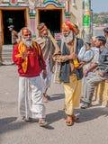 People in Rishikesh Royalty Free Stock Photos