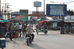 People in Rong Kluea market Royalty Free Stock Photo