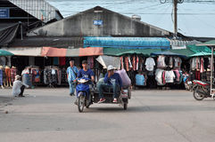 People in Rong Kluea market Royalty Free Stock Photos