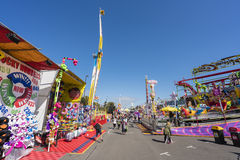 People in the 2015 Royal Melbourne Show Stock Photography