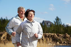 People running Royalty Free Stock Photo