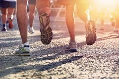 Free People Running Marathon Stock Photos - 31517353