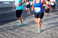 People running marathon Royalty Free Stock Photography