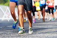 People running marathon Royalty Free Stock Image