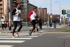 Milano City Marathon Royalty Free Stock Photos