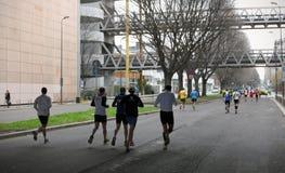 Milano City Marathon Stock Photo