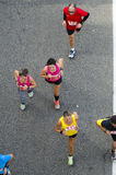 People running Royalty Free Stock Image