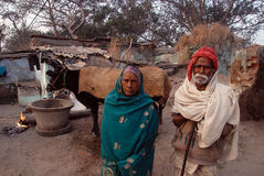 People of Rural India Royalty Free Stock Photos