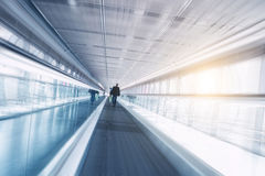 Trade fair skywalk Stock Image