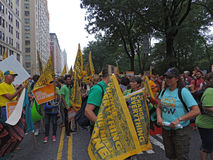 People's Climate March New York City 2014 Stock Photography