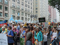 People's Climate March New York City 2014 Royalty Free Stock Photo