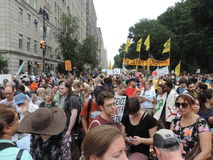 People's Climate March New York City 2014 Royalty Free Stock Image