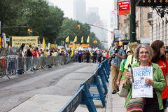 People's Climate March NYC Royalty Free Stock Images