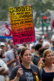 People's Climate March NYC Royalty Free Stock Image