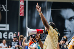 People's Climate March NYC Royalty Free Stock Photography