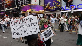 People's Climate March 261 Stock Image