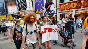 People's Climate March 552 Royalty Free Stock Images