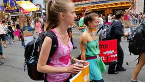 People's Climate March 550 Stock Image