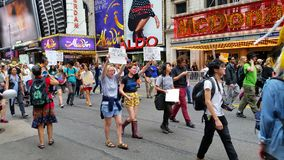 People's Climate March 549 Stock Photography
