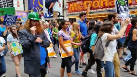 People's Climate March 547 Royalty Free Stock Image