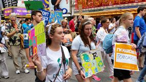 People's Climate March 543 Stock Photos