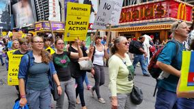 People's Climate March 527 Royalty Free Stock Photography