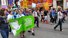 People's Climate March 526 Royalty Free Stock Images