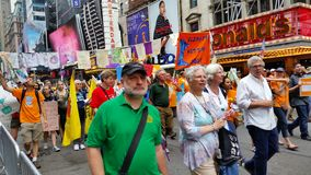 People's Climate March 525 Stock Photography