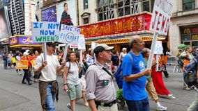 People's Climate March 518 Royalty Free Stock Photography