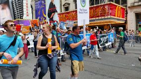 People's Climate March 512 Stock Photography