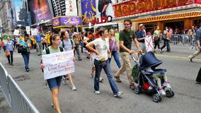 People's Climate March 511 Stock Photos