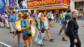 People's Climate March 502 Stock Photography