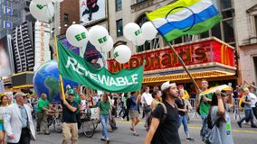 People's Climate March 500 Royalty Free Stock Image