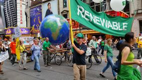 People's Climate March 494 Royalty Free Stock Photography