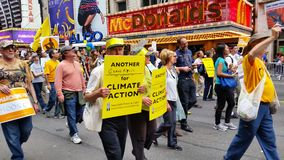 People's Climate March 493 Royalty Free Stock Images