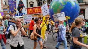 People's Climate March 488 Stock Photos