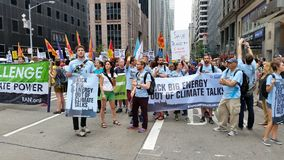 People's Climate March 453 Royalty Free Stock Photography