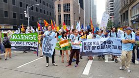 People's Climate March 452 Royalty Free Stock Images