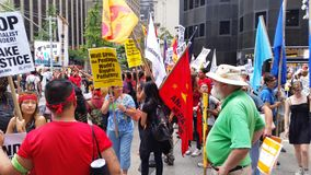 People's Climate March 4478 Royalty Free Stock Image