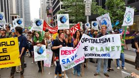 People's Climate March 445 Stock Images