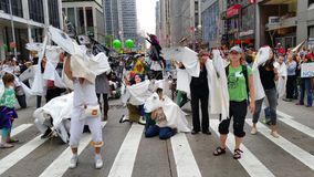 People's Climate March 443 Stock Image