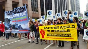 People's Climate March 435 Royalty Free Stock Photos