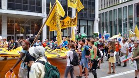People's Climate March 403 Stock Photography