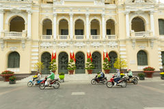 People`s comittee of Ho Chi Minh headquarter. Building in center of the city Stock Photography