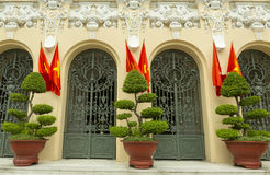 People`s comittee of Ho Chi Minh headquarter. Building in center of the city Royalty Free Stock Images