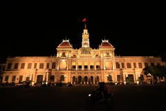 People's Committee Building Saigon. Ho Chi Minh City Vietnam Royalty Free Stock Image