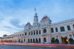 The people`s committee or Ho Chi Minh City Hall  in Ho Chi Minh. City , Vietnam Stock Photos