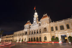 The people`s committee or Ho Chi Minh City Hall  in Ho Chi Minh. City , Vietnam Royalty Free Stock Photos