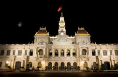 People's Committee Saigon Vietnam Royalty Free Stock Photos