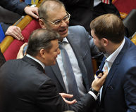 People`s deputies of Ukraine Lyashko and Pashinsky_3 Royalty Free Stock Photos